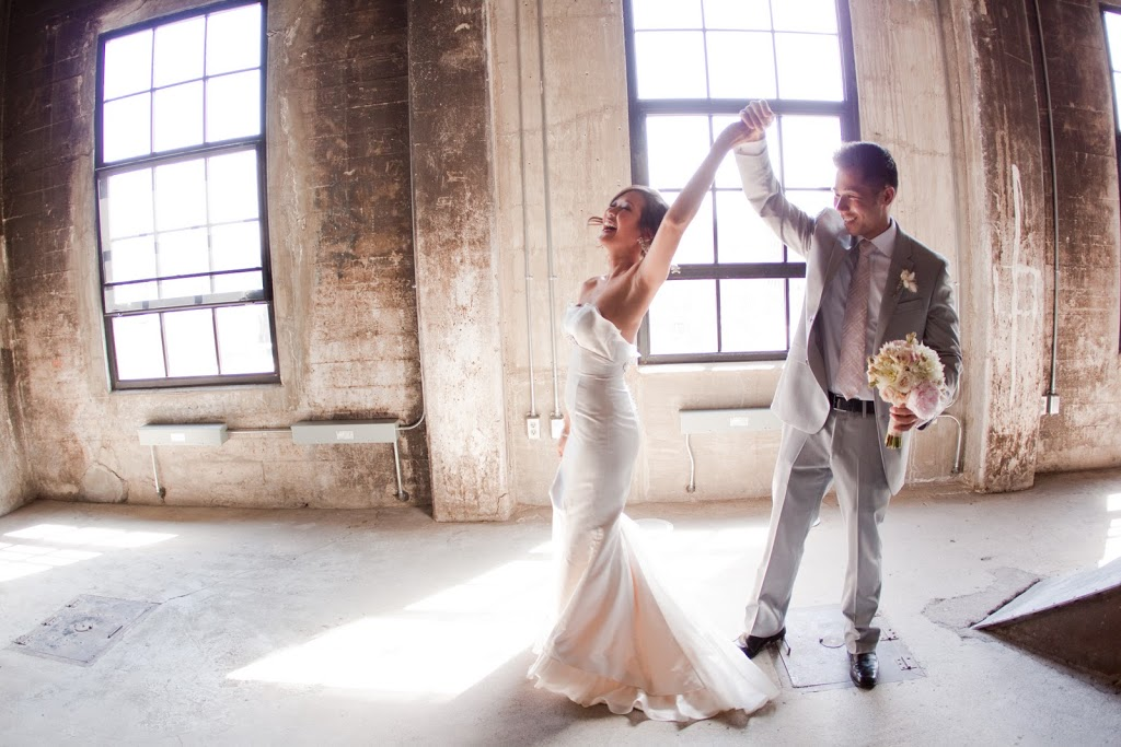 Summer Wedding – Mill City Museum:  Wing & David