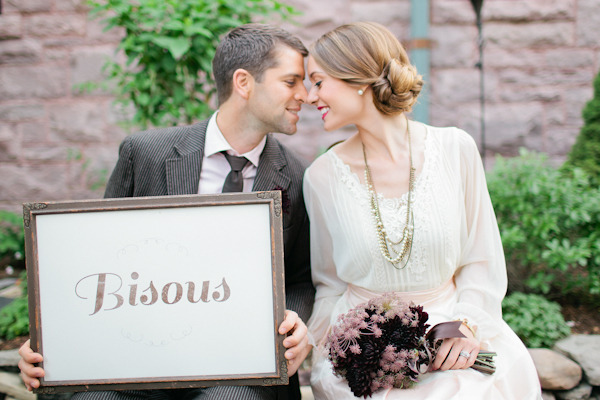 Style Me Pretty:  French Inspired Wedding Shoot
