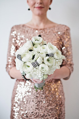 Sequins & Champagne Inspiration<br>  Featured on Ruffled