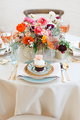 Bridesmaid Soiree Inspiration Shoot<br>  Featured on Style Me Pretty