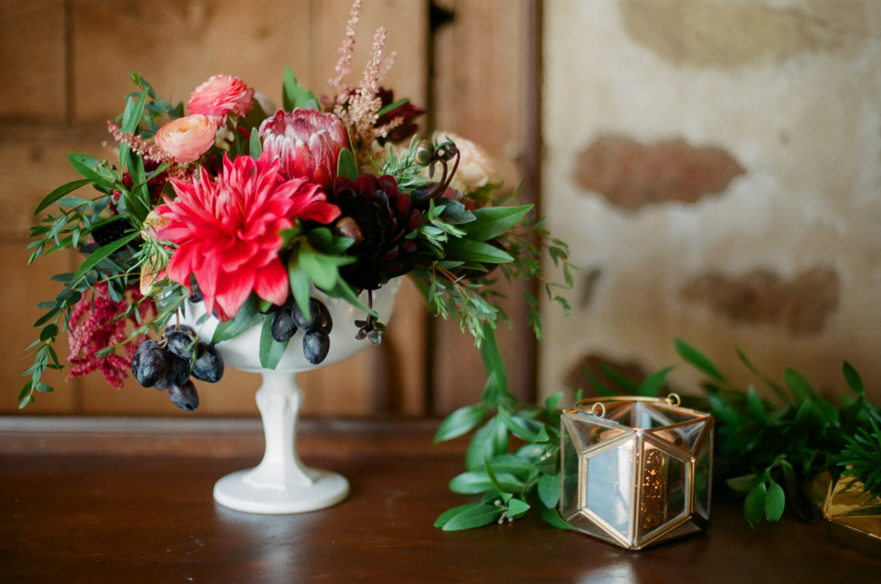Fruit Filled Wedding Inspiration – Styled Shoot | Birch Hill Barn