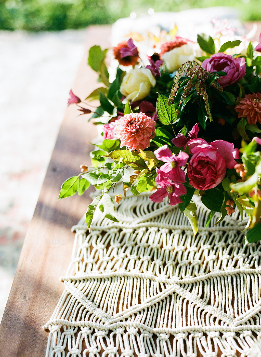 Bohemian Proposal Inspiration Shoot <br> Featured on 100 Layer Cake