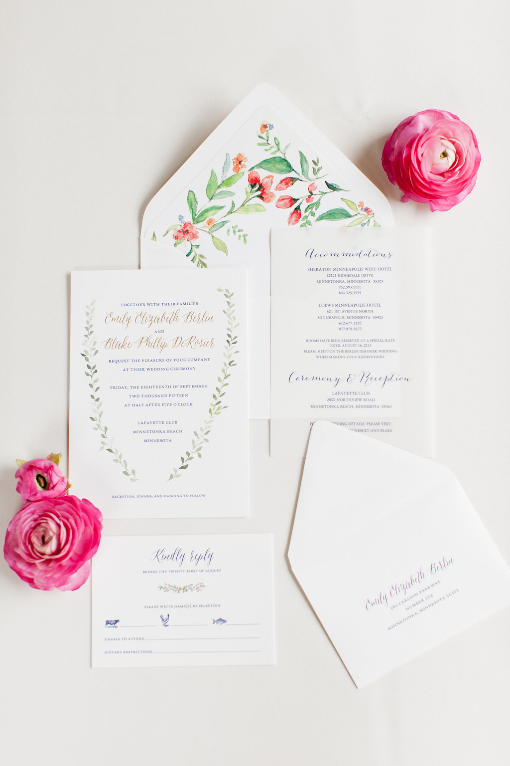 September Wedding: Emily & Blake | Lafayette Club - A Day In Provence